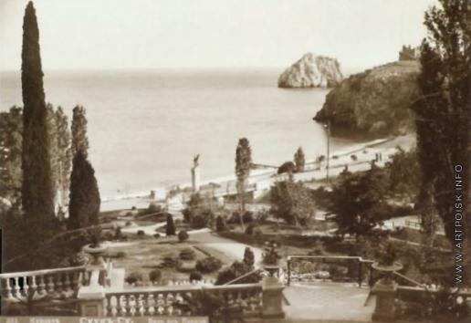Сокорнов В. Н. Курорт Суук-Су. Вид от Казино