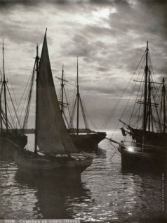 Сокорнов В. Н. Сумерки на море. (Ялта)