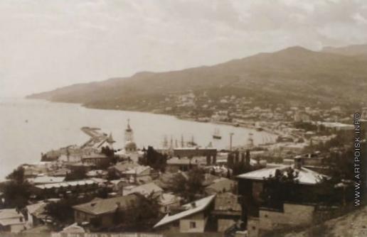 Сокорнов В. Н. Ялта. Вид с восточной стороны