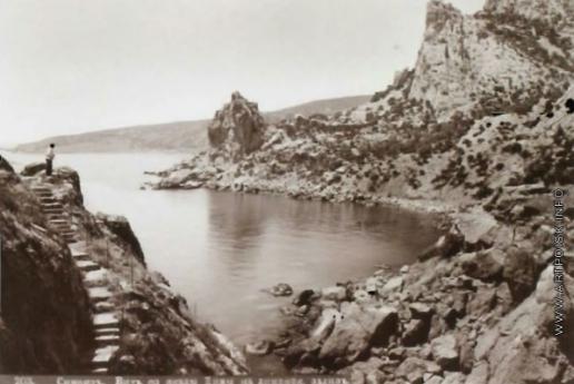 Сокорнов В. Н. Симеиз. Вид со скалы Дивы на лименский залив