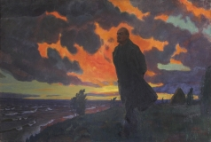 Рылов А. А. Ленин в Разливе