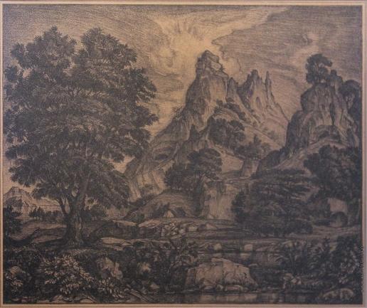 Богаевский К. Ф. Лист из серии «Киммерия»