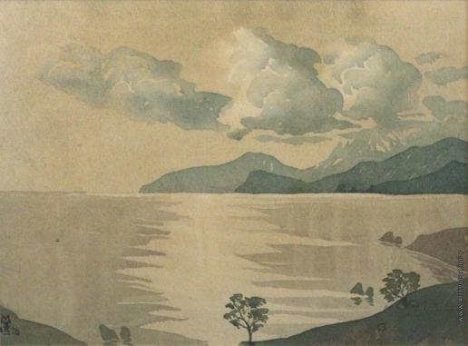 Волошин М. А. Облака над коктебелем