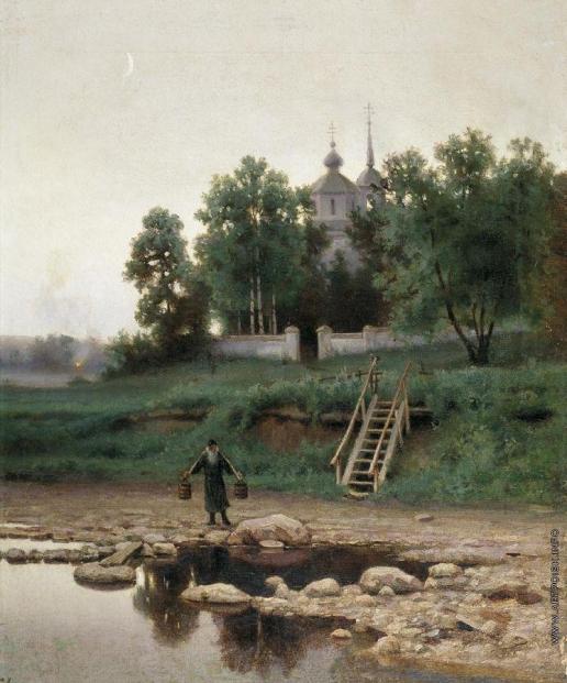 Волков Е. Е. У монастыря
