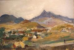 Лабас А. А. Пейзаж в Коктебеле