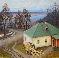 Гермашев М. М. Домик на берегу реки