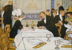 Киселева Е. А. В ресторане. Париж