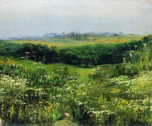 Волков Е. Е. Цветочное поле