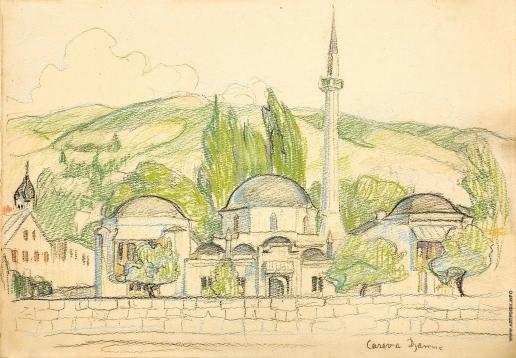 Киселева Е. А. Мечеть в Сараеве