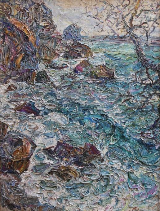 Сорокина Н. Т. Гурзуф. Море