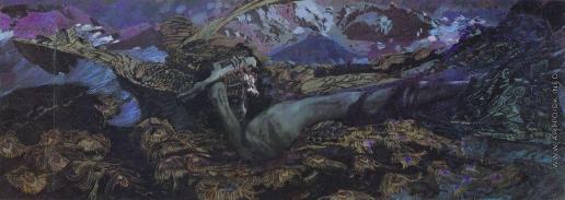 Врубель М. А. Демон поверженный