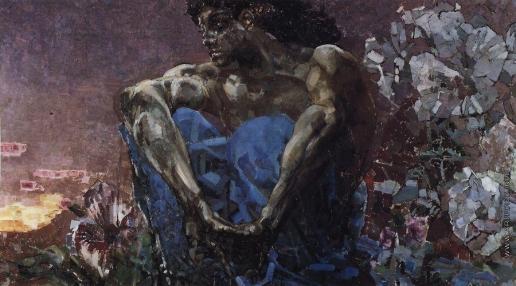 Врубель М. А. Демон сидящий