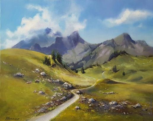 Котельник А. Утро в горах