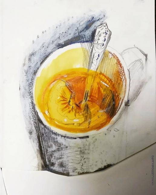 Хлебникова Е. В. Чай с лимоном