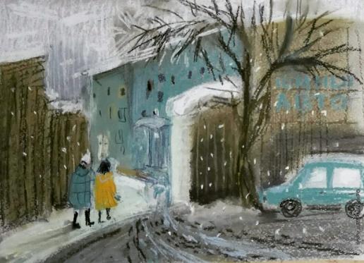 Хлебникова Е. В. Зимний двор