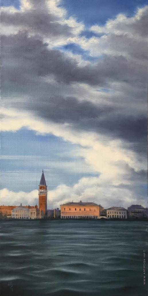 Щепетнова Н. В. Венеция. Вид на Сан Марко