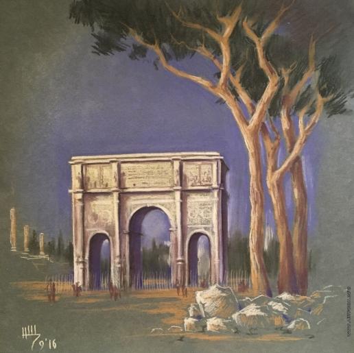 Щепетнова Н. В. Римская арка
