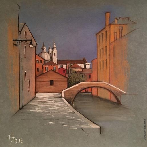 Щепетнова Н. В. Канал в Венеции