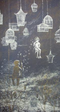 Полинская А. Ю. Серия «Детство», лист 2