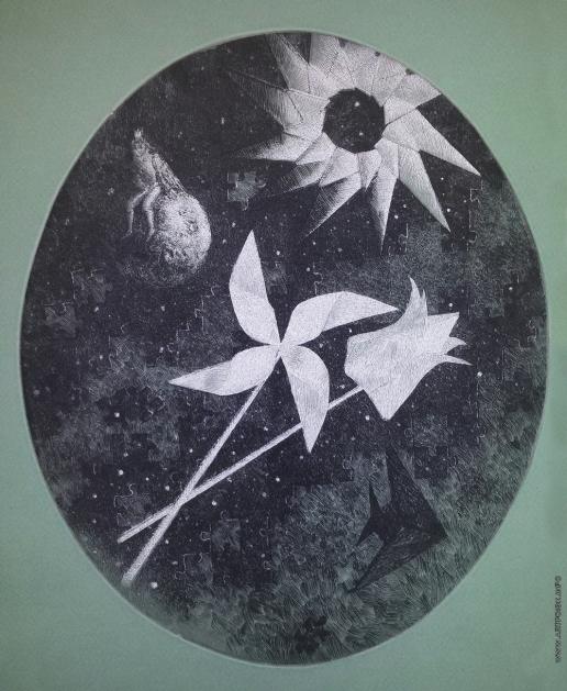 Полинская А. Ю. Серия «Детство», лист 3