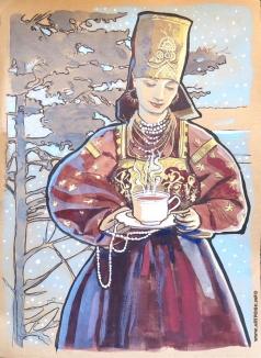 Барковская М. Е. Жемчужный чай