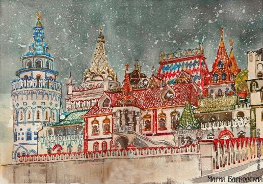 Барковская М. Е. Измайловский Кремль