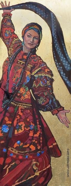 Барковская М. Е. Русский танец