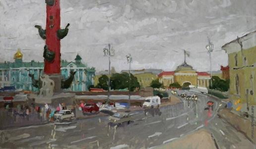 Иванова Ю. В. Питер. Дождь