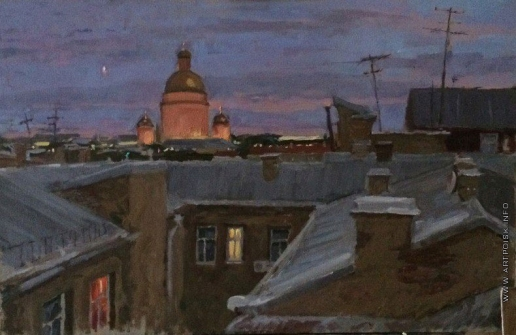 Иванова Ю. В. Питерские крыши