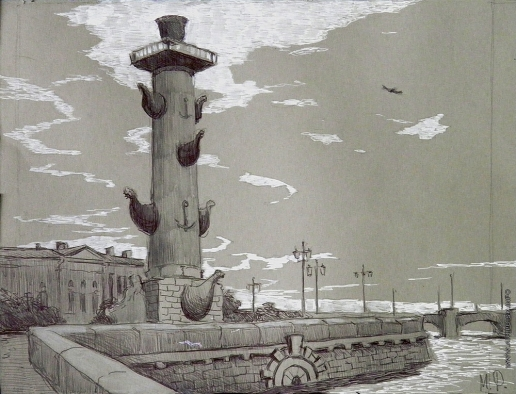 Иванова Ю. В. Питер. Зарисовка