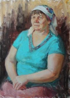 Быченко Л. П. Портрет тёти Лены