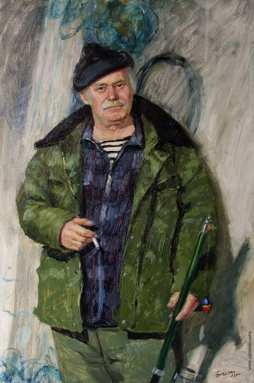 Быченко Л. П. Портрет рыбака