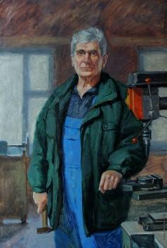 Быченко Л. П. Портрет плотника