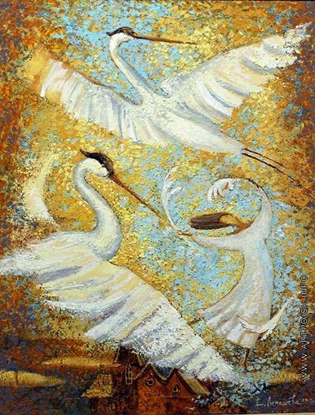 Лемешева Е. Небесные гости