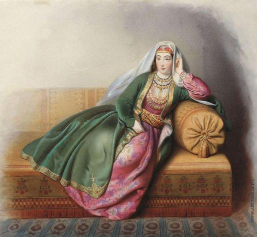 Гагарин Г. Г. Армянка