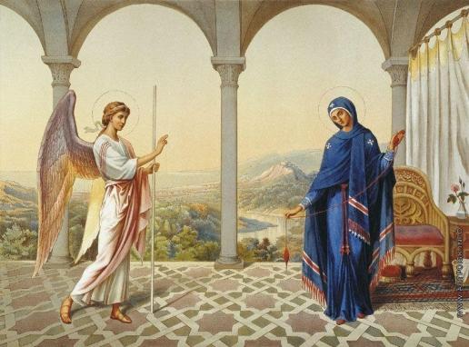 Гагарин Г. Г. Благовещение Пресвятой Богородицы