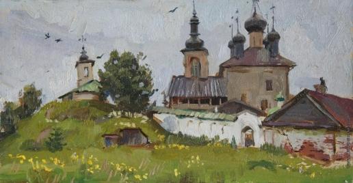 Бучкина И. Женский Горецкий монастырь. Этюд