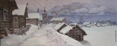 Бучкина И. Ошевенская зима