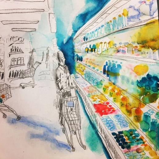 Новикова П. М. В супермаркете