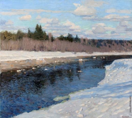 Худяков В. Л. Весна на севере