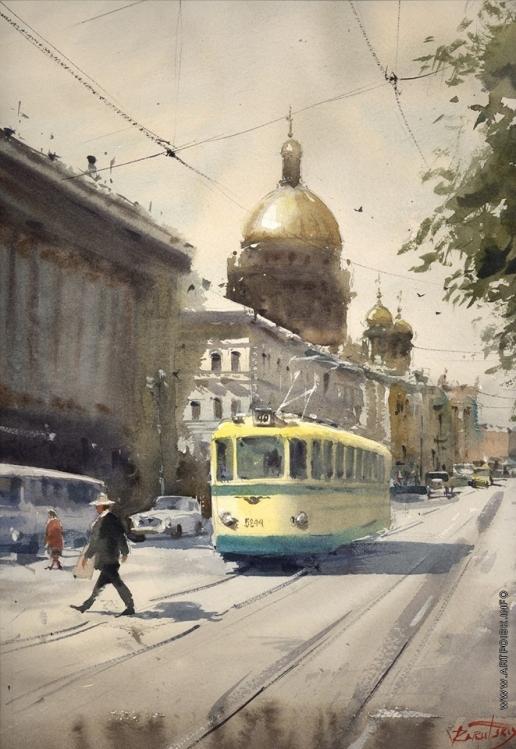 Заруцкий В. Г. Жёлтый трамвай