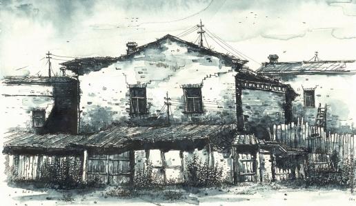 Демков С. Б. Из серии «Иркутск разный»