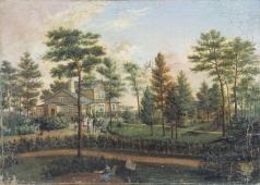 Галактионов С. Ф. Дача в парке