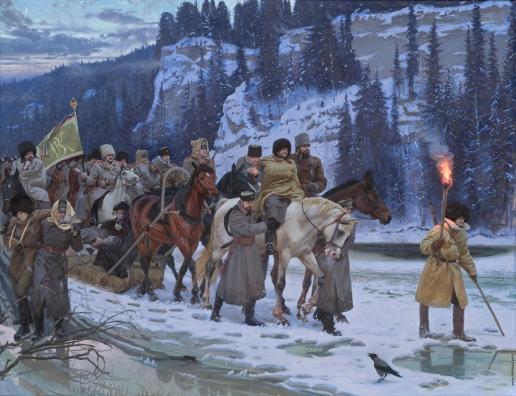 Чуданов С. Э. Великий Сибирский Ледяной поход
