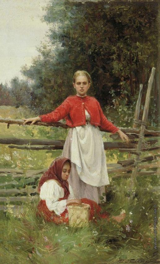 Галкин И. С. Крестьянские дети