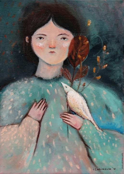 Изосимова Н. Девочка и птица