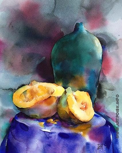 Канцерева В. Е. Натюрморт со странной вазой