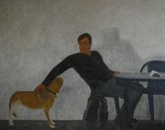 Полковниченко А. К. Сазонов и собака