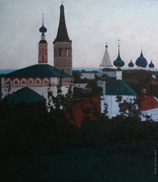 Полковниченко А. К. В Суздале. Закат на Пинаихе