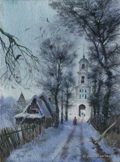 Пугачев П. С. Дорога в Никитский монастырь